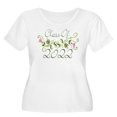 Lovely Class Of 2022 Women's Plus Size Scoop Neck