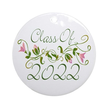 Lovely Class Of 2022 Ornament (Round)