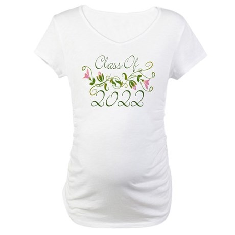 Lovely Class Of 2022 Maternity T-Shirt