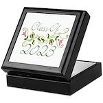 Flowered Class Of 2023 Keepsake Box