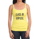 Grunge Class Of 2021 Jr. Spaghetti Tank