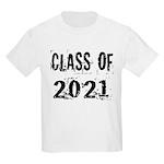 Grunge Class Of 2021 Kids Light T-Shirt