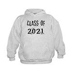 Grunge Class Of 2021 Kids Hoodie