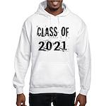 Grunge Class Of 2021 Hooded Sweatshirt