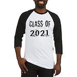 Grunge Class Of 2021 Baseball Jersey