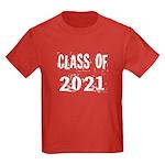 Grunge Class Of 2021 Kids Dark T-Shirt