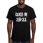 Grunge Class Of 2021 Men's Fitted T-Shirt (dark)