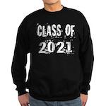 Grunge Class Of 2021 Sweatshirt (dark)