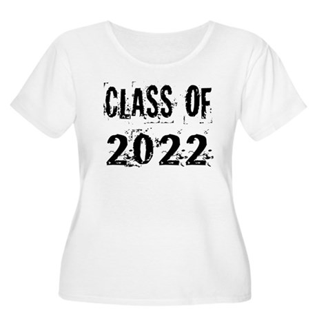 Grunge Class Of 2022 Women's Plus Size Scoop Neck