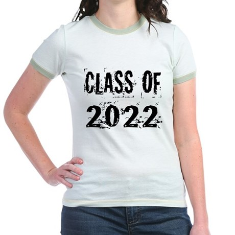 Grunge Class Of 2022 Jr. Ringer T-Shirt