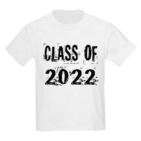 Grunge Class Of 2022 Kids Light T-Shirt