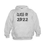 Grunge Class Of 2022 Kids Hoodie