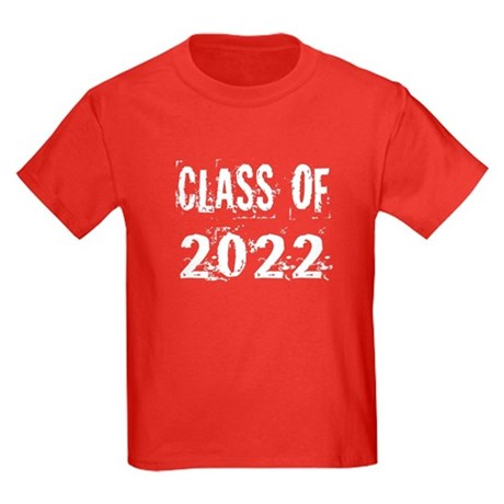 Grunge Class Of 2022 Kids Dark T-Shirt