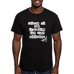 The Darkside Men's Fitted T-Shirt (dark)