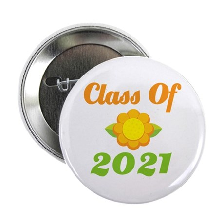 "Bright Class Of 2021 2.25"" Button"