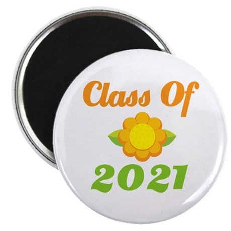 Bright Class Of 2021 Magnet