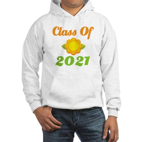 Bright Class Of 2021 Hooded Sweatshirt