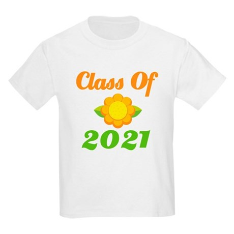 Bright Class Of 2021 Kids Light T-Shirt