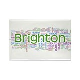 Brighton Rectangle Magnet (10 pack)