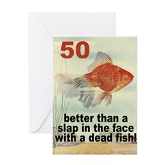 50th Greeting Card