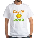 Grad Class Of 2022 White T-Shirt