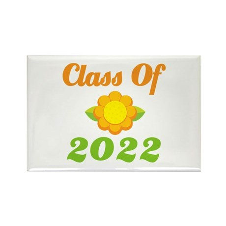 Grad Class Of 2022 Rectangle Magnet