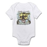 Auntie's Spunky Monkey Infant Bodysuit