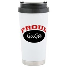 Proud GaGa Ceramic Travel Mug
