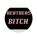 "Heather Hellfire Official 3.5"" Button"