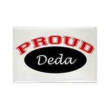 Proud Deda Rectangle Magnet (10 pack)