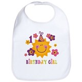 Sun 1st Birthday Bib