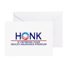 Honk Health Insurance Greeting Card