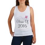 Cute Grad Class Of 2016 Women's Tank Top