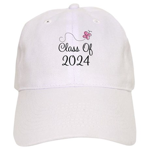 Sweet Pink Class Of 2024 Cap
