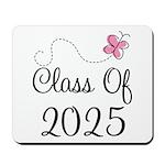 Pink Class Of 2025 Mousepad