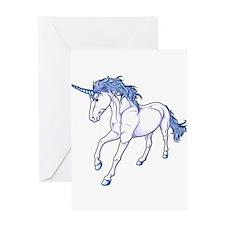 Unique Unicorn Greeting Card