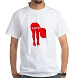 bend over 4 LOVE Men's Shirt