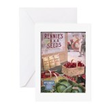 Rennie's XXX Seeds Greeting Cards (Pk of 10)