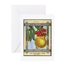 Sow Salzer's Seeds Greeting Card