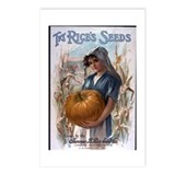 Rice's Seeds 3 Postcards (Package of 8)