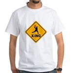 Dodgeball X-ing White T-Shirt