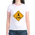 Dodgeball X-ing Jr. Ringer T-Shirt