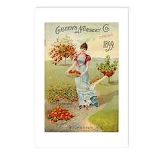 Green Nursery 1899 Postcards (Package of 8)