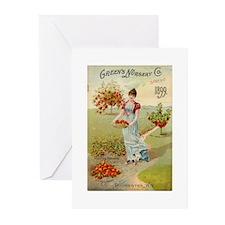 Green Nursery 1899 Greeting Cards (Pk of 20)