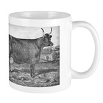 Milking Devon Mug: Queen