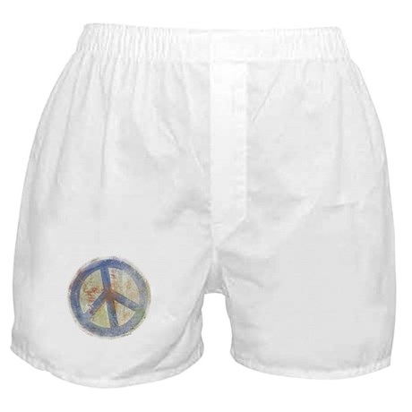 Urban Chic Peace Sign Boxer Shorts
