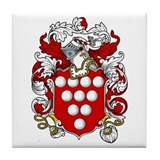 Anthony Coat of Arms Tile Coaster