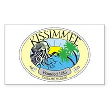 Kissimmee Cthulhu Fhtagn Rectangle Decal