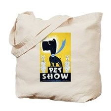 Pet Show Dogs Vintage WPA Art Tote Bag