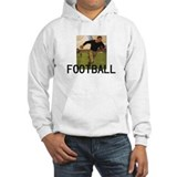 TOP Football Old School Hoodie Sweatshirt